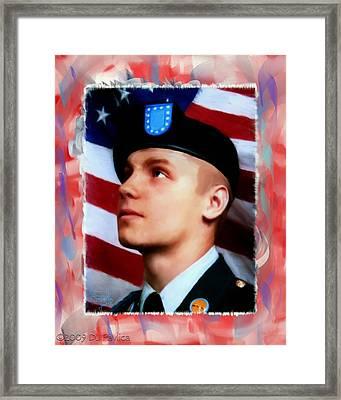 Byron Fouty Framed Print by Donald Pavlica