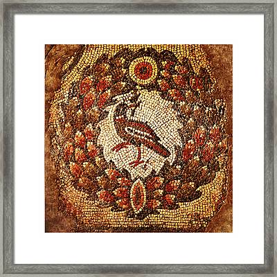 Byzantine Bird Framed Print