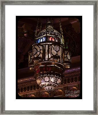 Byzantine Lamp Framed Print