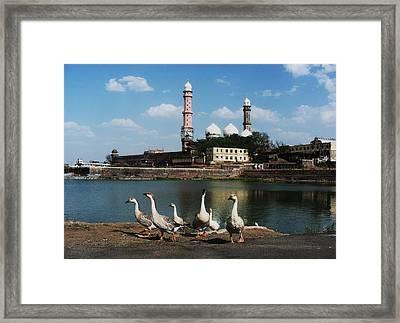C - Bhopal Framed Print by Mohammed Nasir
