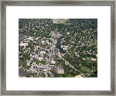 Framed Print featuring the photograph C-011 Cedarburg Wisconsin by Bill Lang
