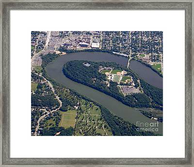 Framed Print featuring the photograph C-016 Carson Park Eauclaire Wisconsin by Bill Lang