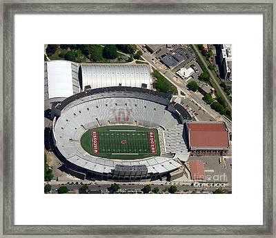 C-019 Camp Randall Stadium Framed Print