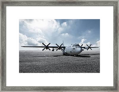 C-130 Hercules Framed Print