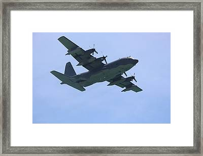 C-130 Framed Print by Jodi Vetter