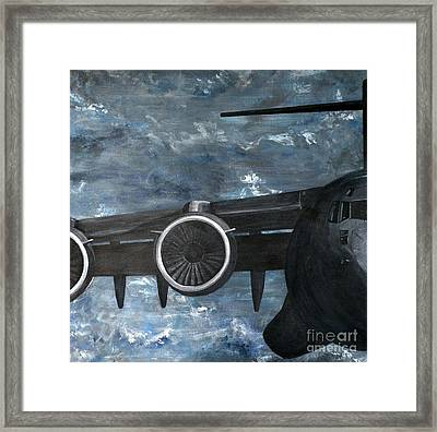 C-17 Globemaster IIi- Panel 2 Framed Print