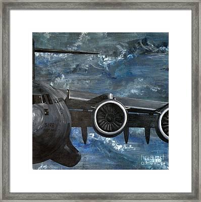 C-17 Globemaster IIi- Panel 3 Framed Print
