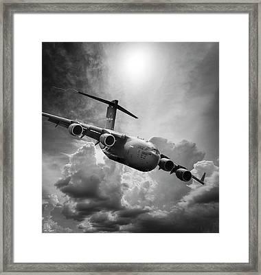 C-17 Globemaster Framed Print