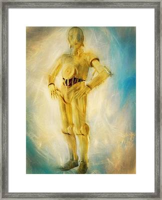 C-3po Framed Print by Dan Sproul