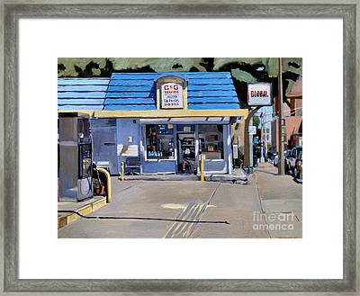 C And G Framed Print by Deb Putnam