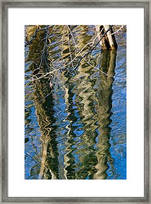C And O Abstract Framed Print