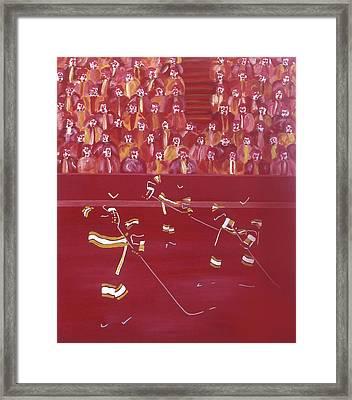 C F Framed Print by Ken Yackel