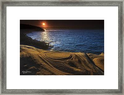 C I R C L E S Framed Print