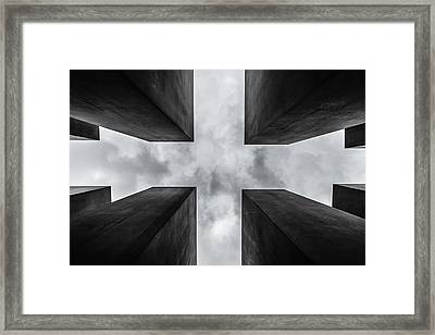 C R O S S Framed Print by Herve Loire