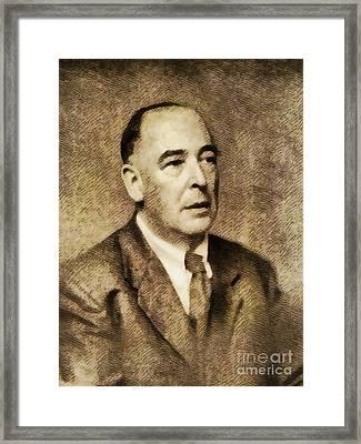 C. S. Lewis, Literary Legend Framed Print