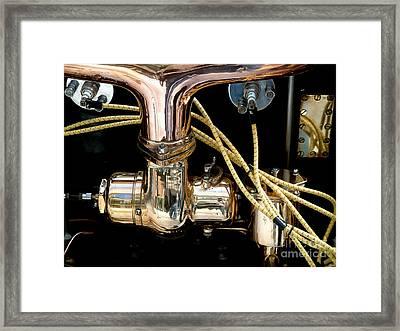 C128 Framed Print