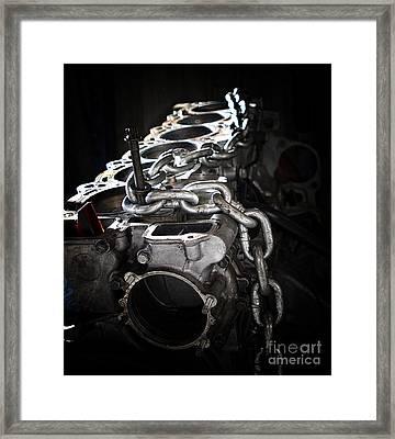 c35 Framed Print