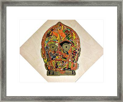 C3po Star Wars Afrofuturist Collection Framed Print