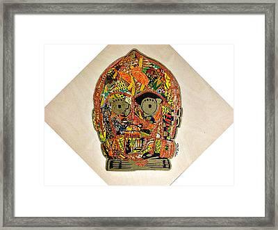 C3po Star Wars Afrofuturist Collection Framed Print