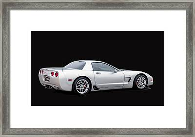 C6 Corvette Framed Print