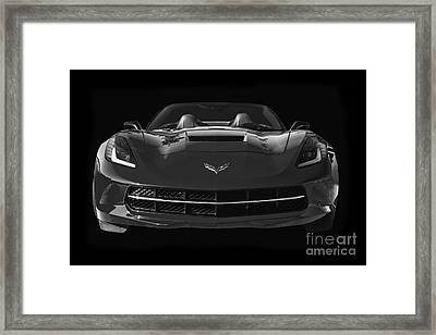 C7 Stingray Corvette Framed Print by Dennis Hedberg