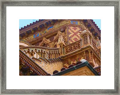 Ca' D'zan Detail Framed Print