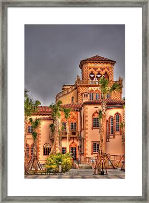 Ca Dzan Mansion South Framed Print