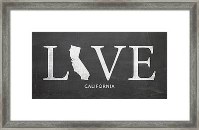 Ca Love Framed Print