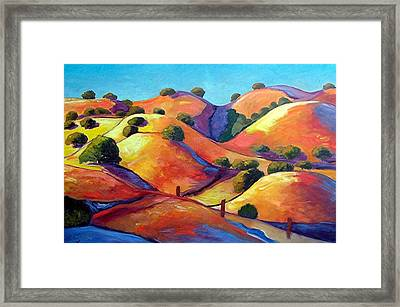 Ca Rollers Framed Print