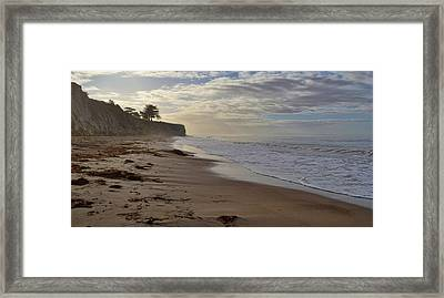 Ca Watercolor Framed Print by JAMART Photography