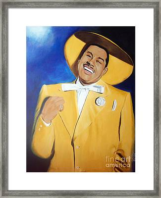 Cab Calloway In Color Framed Print