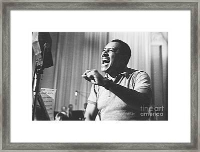 Cab Calloway Framed Print