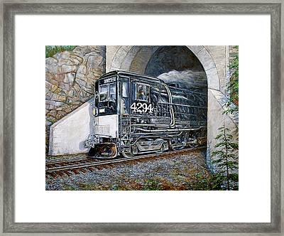 Cab Forward Framed Print by Gary Symington