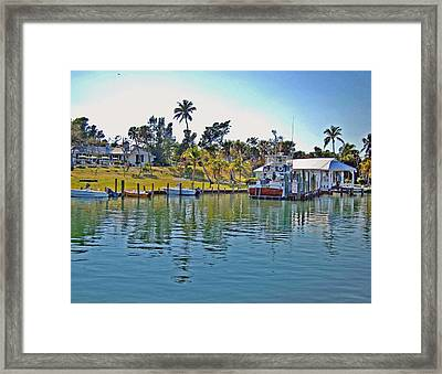 Cabbage Key Framed Print