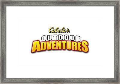 Cabela's Outdoor Adventures Framed Print