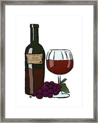 Cabernet Sauvignon Framed Print