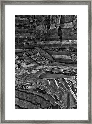 Cabin Bed Framed Print
