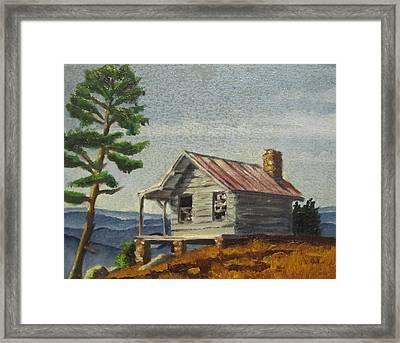 Cabin Framed Print by D T LaVercombe