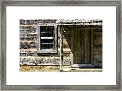 Cabin Door 01 Framed Print