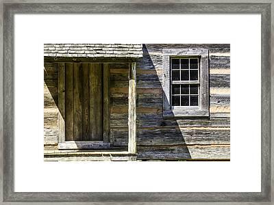 Cabin Door 02 Framed Print