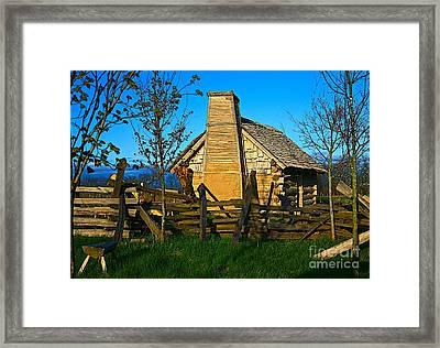 Cabin Fever Framed Print by Robert Pearson