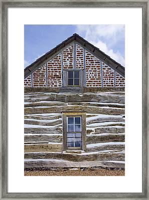 Cabin - Homestead - National Monument Framed Print by Nikolyn McDonald