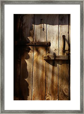 Cabin Framed Print by Margaret Steinmeyer
