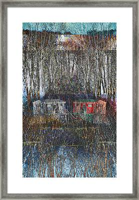 Cabin Recluse Framed Print by Jade Knights