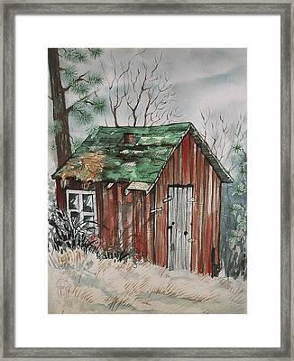 Cabin Shack Framed Print
