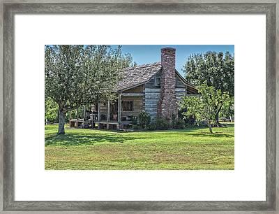 Cabin1 Framed Print