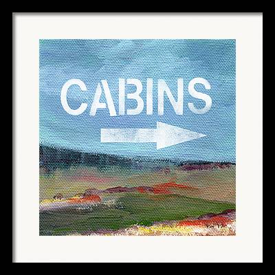 Cabin Interiors Paintings Framed Prints