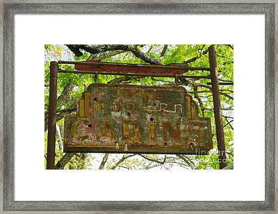 Cabins No More Framed Print by Scott Nelson