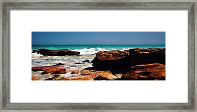 Cable Beach Broome Framed Print by Phill Petrovic