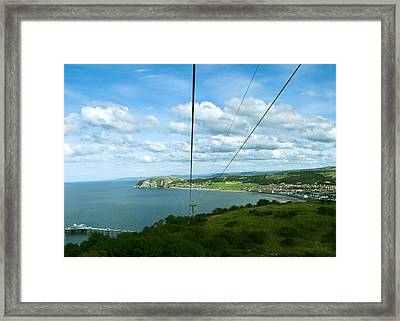 Cable Lift Framed Print by Svetlana Sewell